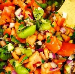kiwi tomato salsa