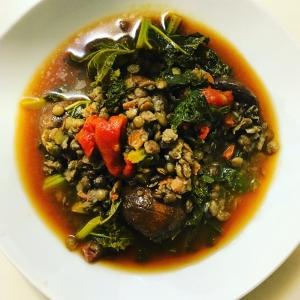 veggie-lentil-soup